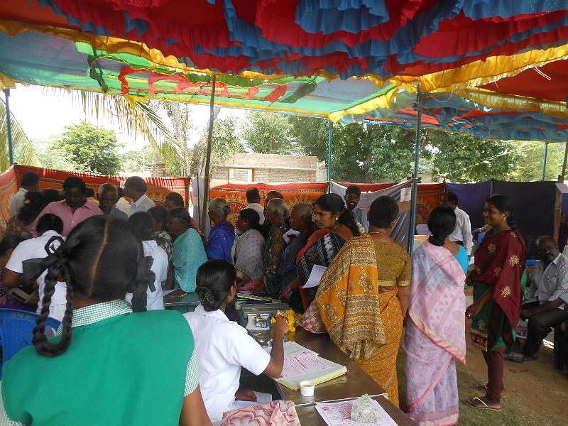 Free Medical Camp at Marikuppam