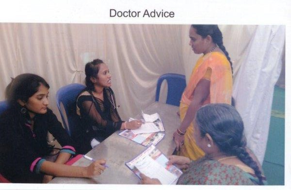 Medical Health Check-Up Camp held at Vidya Samskruthi International School